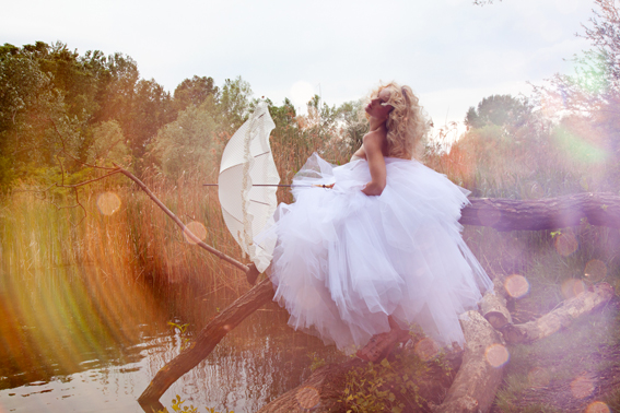 patricia kaiser, nackt, fotoshoot, strecke, editorial, fairy, tulle dress