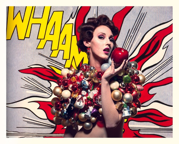 roy liechtenstein, pop art, beauty, shoot, make-up, professional, effect, editorial